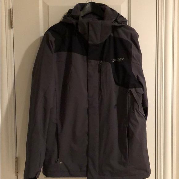 Spyder posh insulated ski jacket womens